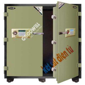 két sắt điện tử 2 cửa Gudbank 1300